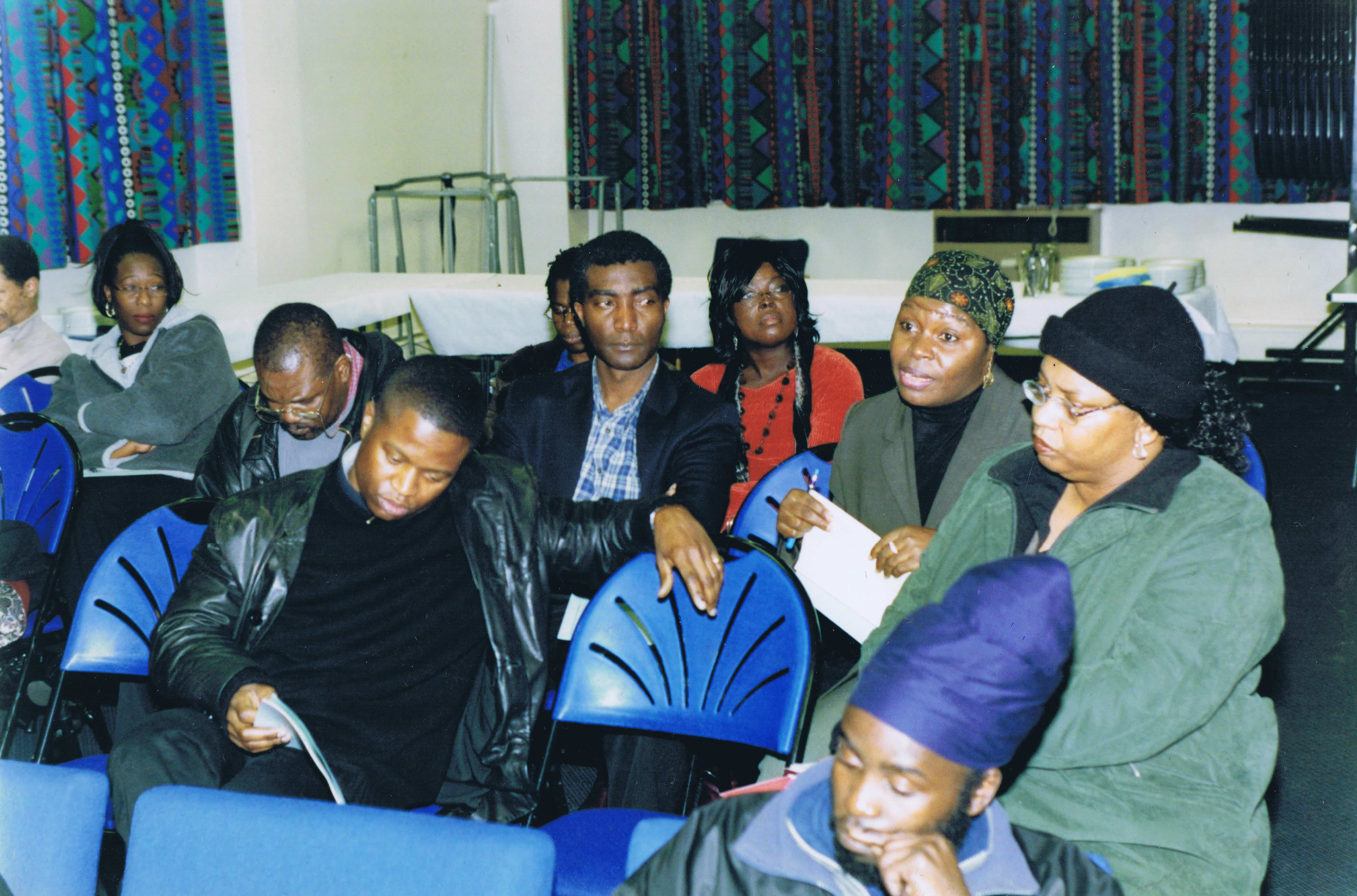 A Brief History and Future Plans for the African Caribbean Centre: 2005 — Page Banner