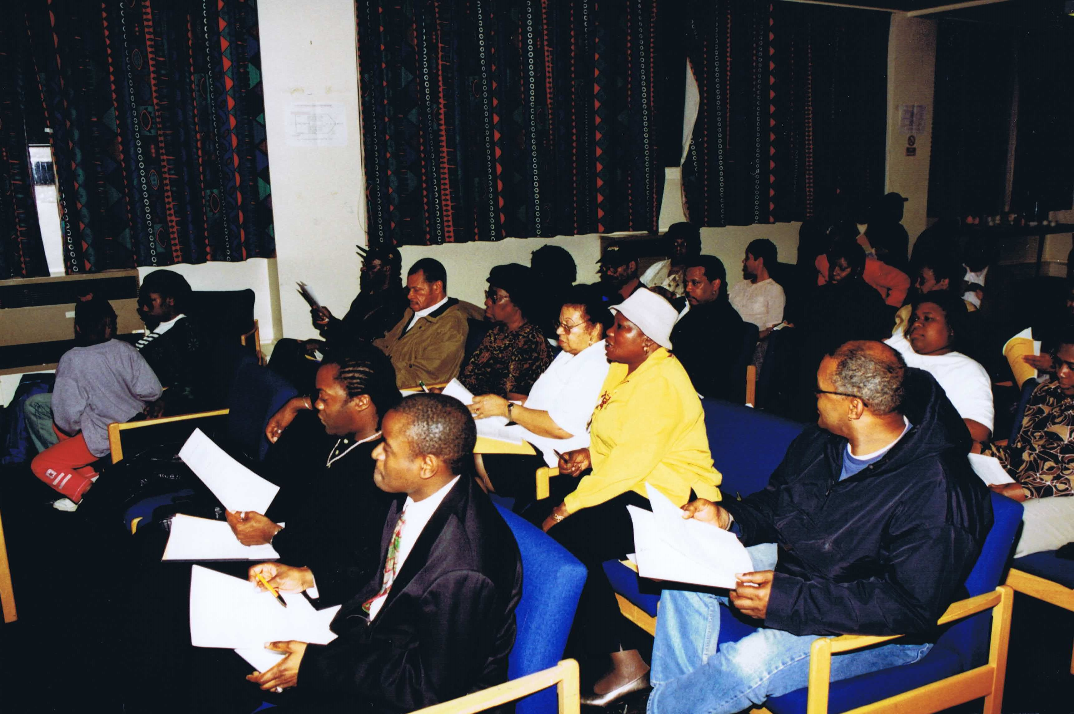 The Future of African Caribbean Centre: 2005 — Page Banner