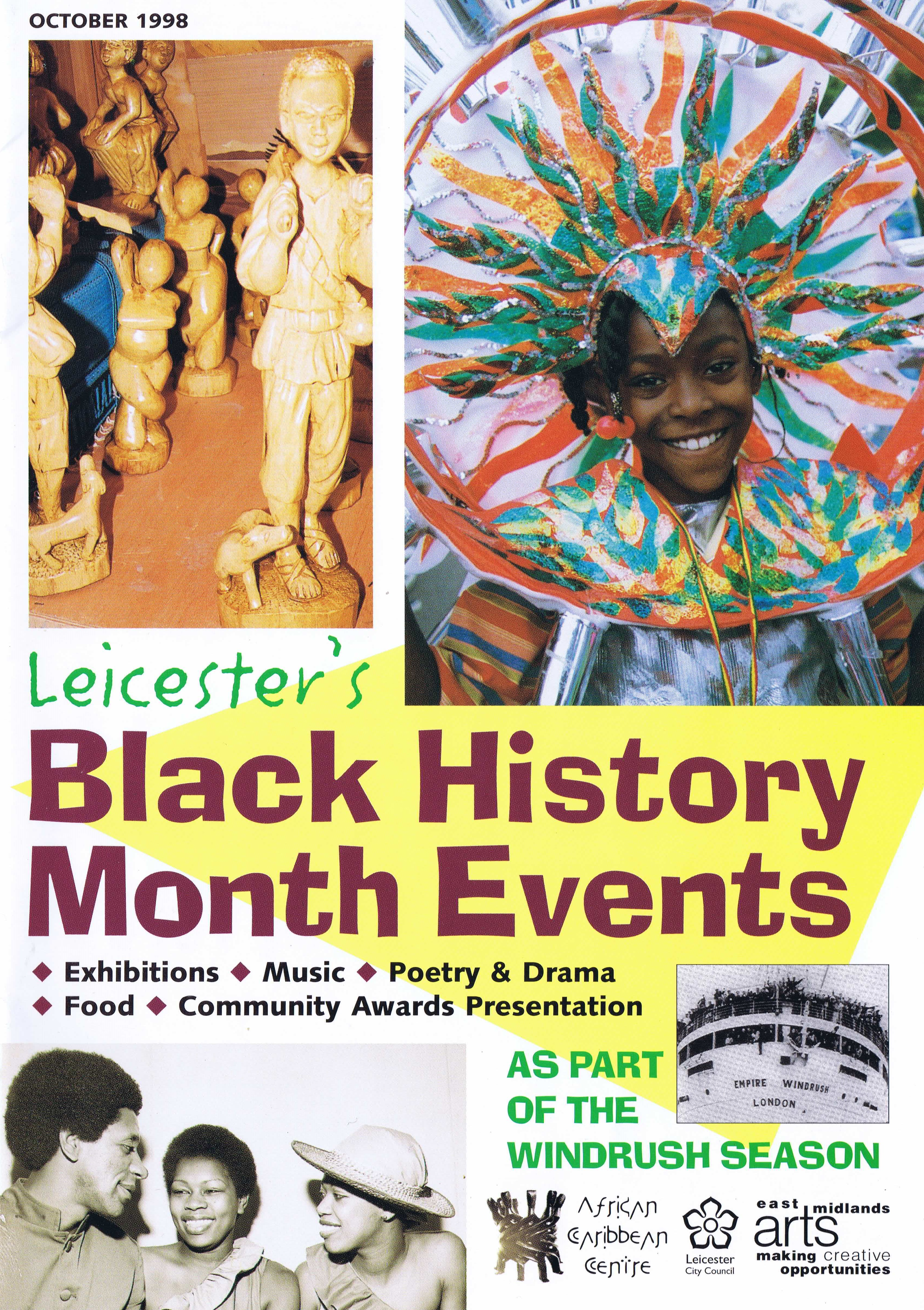 BHM Brochure 1998 — Page Banner