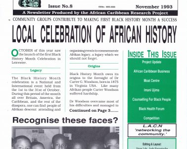African Caribbean Citizens Forum (ACCF): November 1993 image