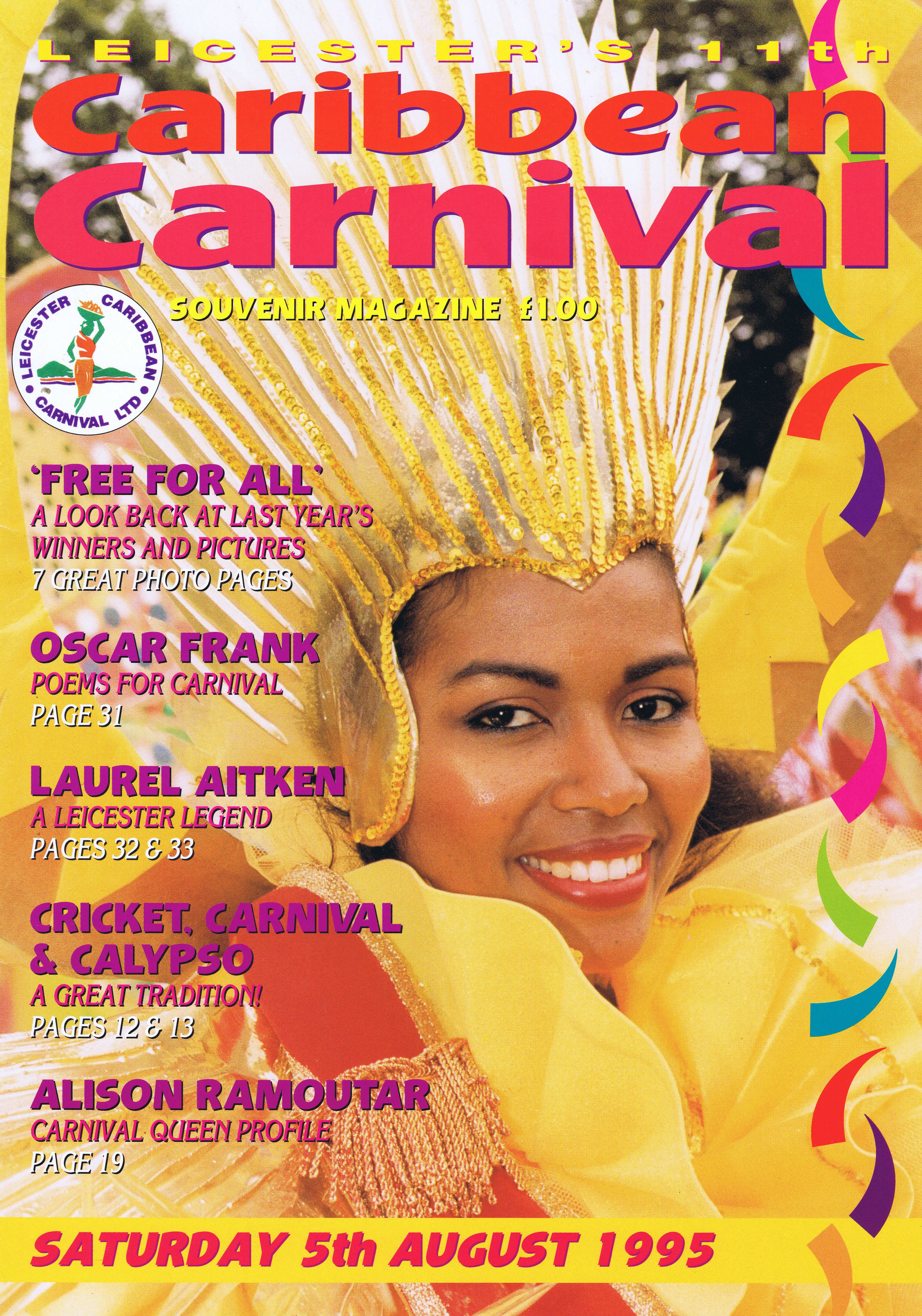 Caribbean Carnival: 1995 — Page Banner