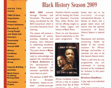 African Caribbean Citizens Forum (ACCF): Summer 2009 image