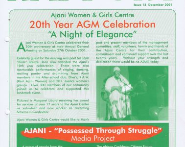 African Caribbean Citizens Forum (ACCF): December 2001 image