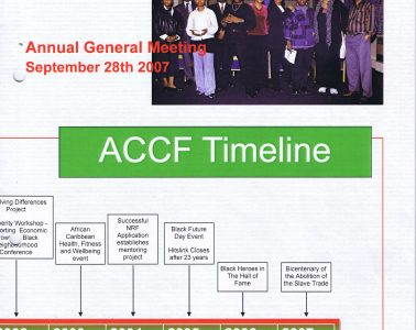 African Caribbean Citizens Forum (ACCF): September 2007 image