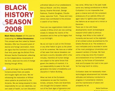 African Caribbean Citizens Forum (ACCF): Summer 2008 image