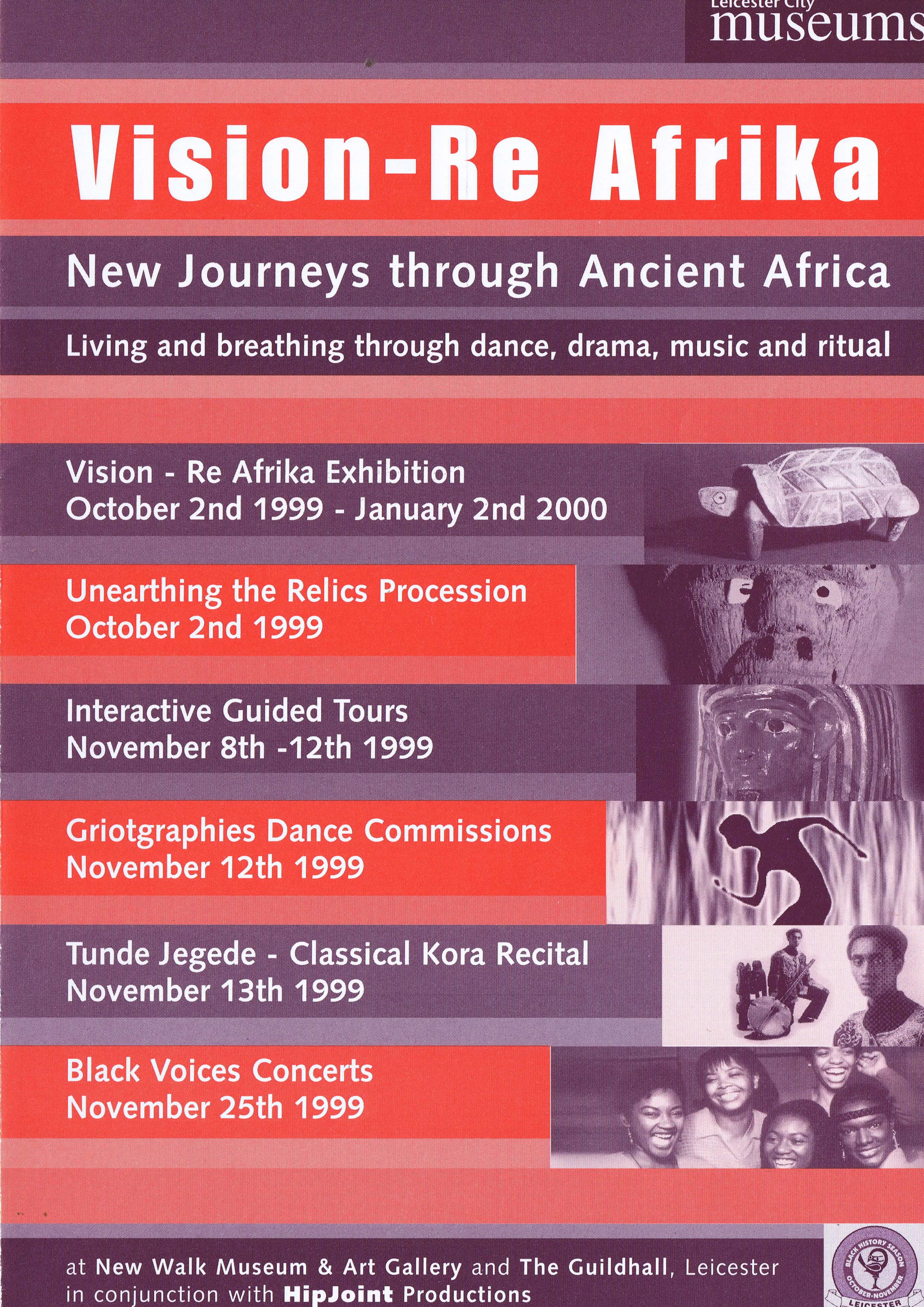 Collection of BHM and Carnival leaflets — Page Banner